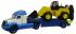 Автомобиль-трейлер+трактор-погрузчик