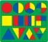 Доски-вкладыши (с основными формами, разделенными на 2-3 части)