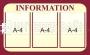 Стенд Infomation (информационный)