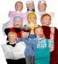 Куколный театр.Мы в профессии играем