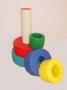 Детские мягкие модули Пирамида - модульная ( 6 элементов)