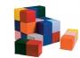 Детские мягкие модули «Разноцветные кубики» 12 модулей