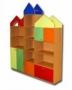Мебель для детского сада Стенка для игрушек №1