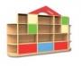 Мебель для детского сада Стенка для игрушек №3