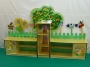 Мебель для детского сада Стенка для игрушек №7