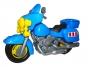 Мотоцикл полицейский для игр на улице