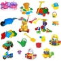 Комплект игрушек и игр с водой и песком для Ясельной группы ДОУ