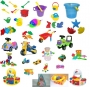Комплект игрушек и игр с водой и песком для ДОУ на 125мест(6гр)