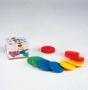 Диски цветные пластмассовые (комплект 9шт)
