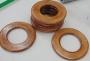 Кольцо жесткое плоское деревянное