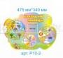Стенд Календарь природы (Набор Ягодка)