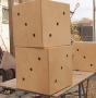 Куб деревянный большой ребро 400мм
