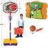 Баскетбольная стойка регулируемая детская с мячом (выс.90-162см)