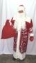 Новогодний костюм Дед Мороз Боярский бархат аппликация