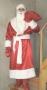 Новогодний костюм Дед Мороз атлас