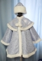 Театральный детский костюм «Снегурочка Крошка»