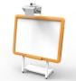 Интерактивная доска с проектором и штативом (инфрокрасн)