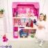 """Большой дом для куклы """"Муза"""" с 16 предм.меб, качелями и лифт"""