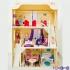 """Домик для кукол """"Шарм"""" (2 лестницы, мебель)"""