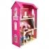"""Домик для кукол """"Вдохновение"""" (2 лестницы, мебель)"""