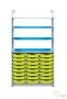 Стеллаж высокий с лотками F1 (24 шт.)