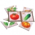 """Картинки разрезные """"Овощи"""", 6 картинок"""