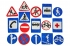 Дорожные знаки без игрового поля (11 шт.)