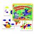 Набор геометрических фигур с графическими образцами